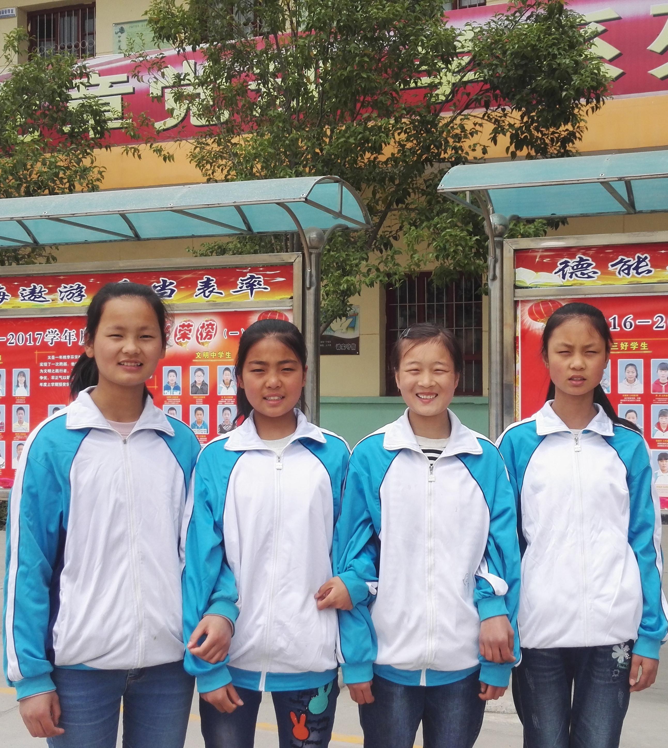 由左到右:韩银芝、任茹悦、韩乐、彭玉茗。.jpg