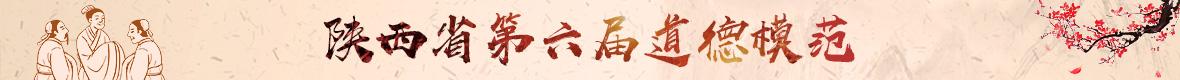 陕西省第六届道德模范