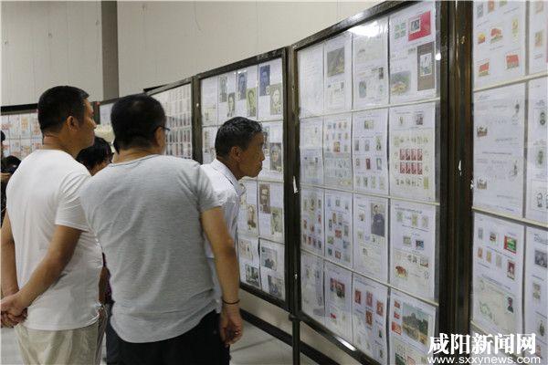 """纪念长征胜利80周年""""薪火相传""""集邮巡展在咸阳举办"""